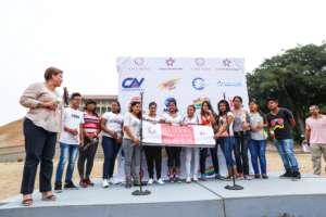 Young group from Fundacion Transicion a la Vida