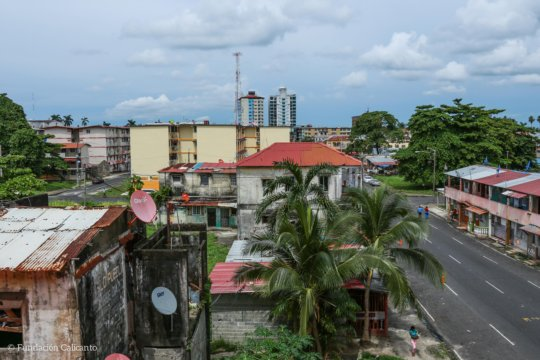 Colon City view from above