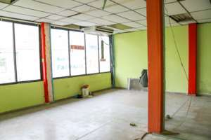 Facilities center before the renovation