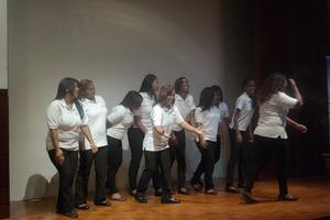 CAPTA Women dramatizing their journey