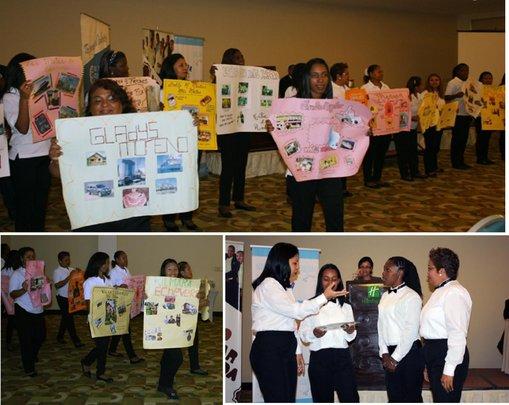 CAPTA Graduates presenting their Goals and Dreams
