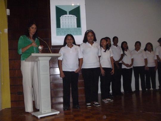 Executive President congratulates CAPTA girls