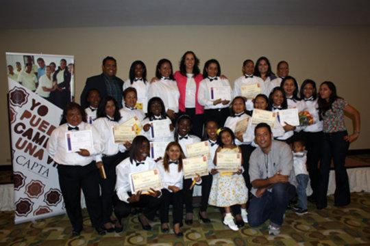 CAPTA Graduates with relatives & Calicanto's staff