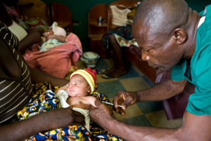 Vaccinations in Toe Town Clinic