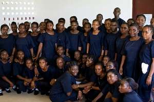 Liberian Midwives in Training