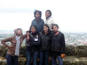 Summer '09: In S. Africa with students from Masi