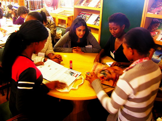 Library Tutoring Session
