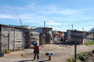Shacks in Masiphumelele
