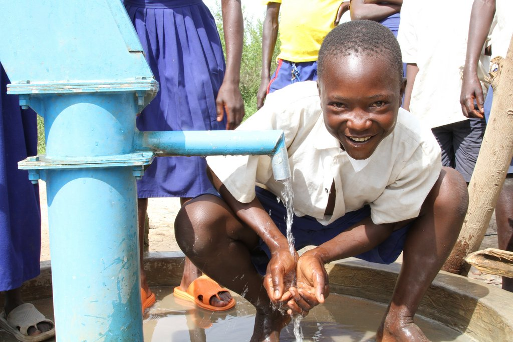 The Gwanika School in Uganda needs a water well