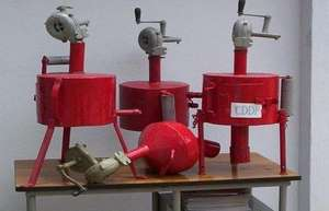 Different models of the new fumigation device