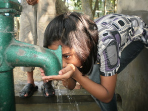 Thanks to you more families have access to water