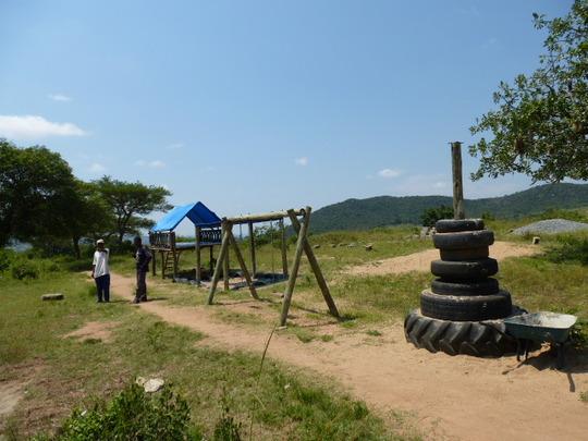 Layout of playground