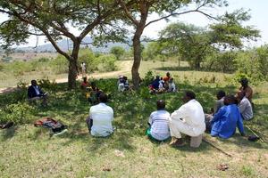 Community elders planning for the graduation