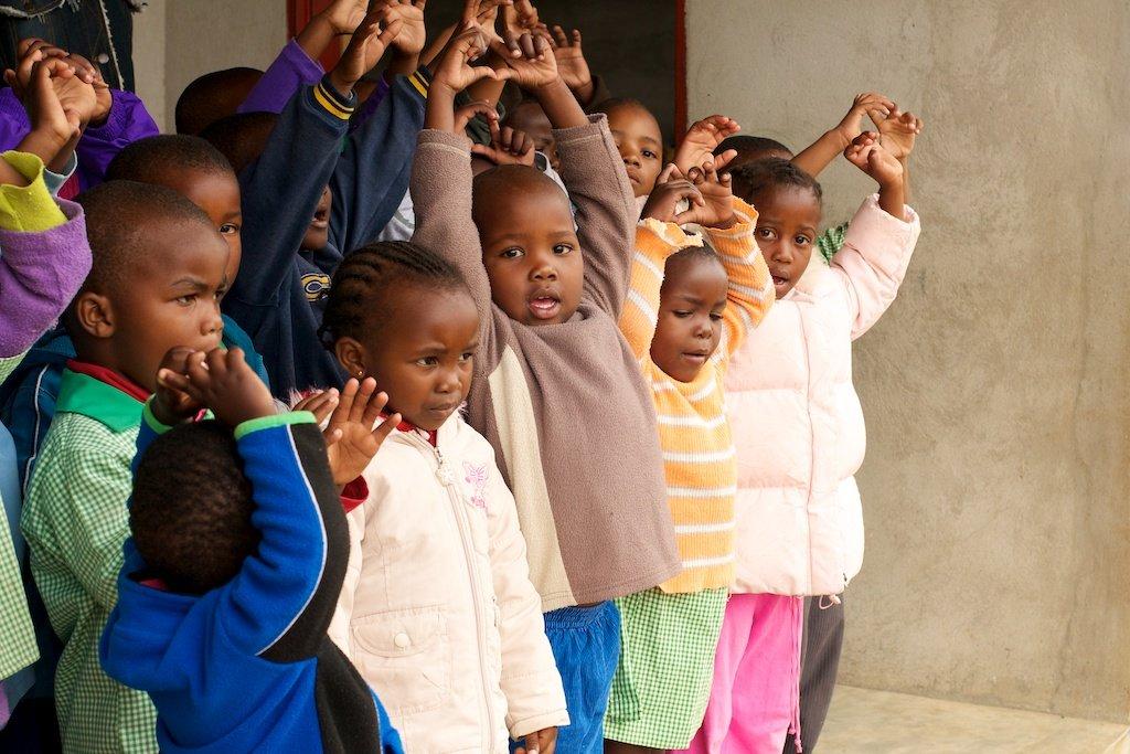 Building a Preschool in Rural Swaziland