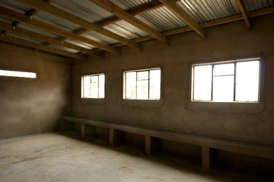 New Mlumati Community School, yet to be painted.