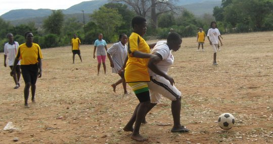 Livelihood empowement of rural girls through sport