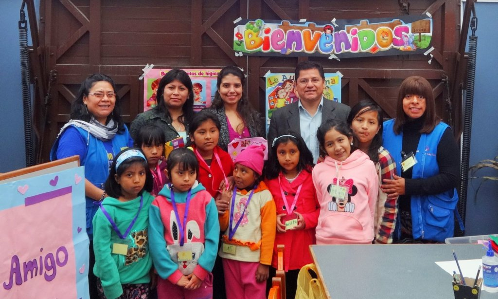 The Peruvian Ombudsman visits La Casa de Panchita