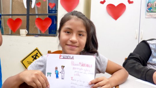 I want to be a psychologist - Maria, 11