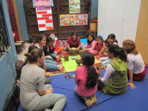 Workshops with CDWs at La Casa de Panchita