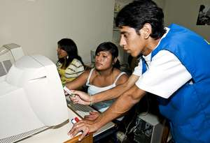 Teaching computer, skills to the end