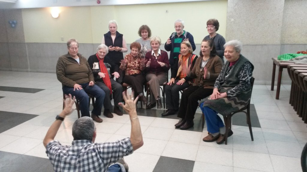 sign language interpreter helps organizing
