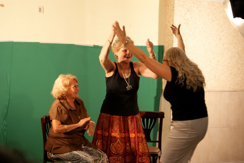 Grandmothers celebrating