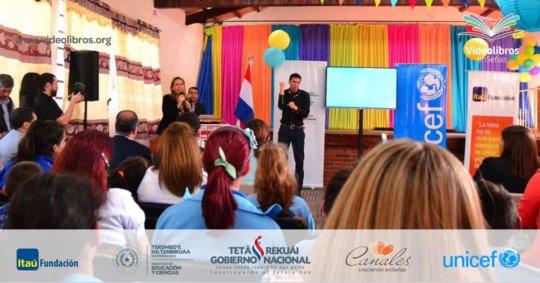 Launching Videobooks in Paraguayan Sign Language