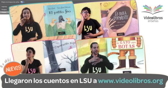 Videobooks in Uruguayan Sign Language