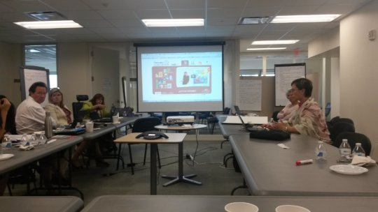 presenting Videobooks in NY UNICEF headquarters