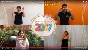 Good wishes in different sign languages