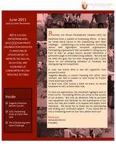 June Newsletter (PDF)