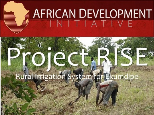 RISE (Rural Irrigation System for Ekumdipe)