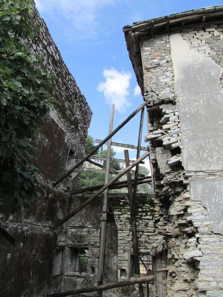 Tower house in danger of collapsing-next project?