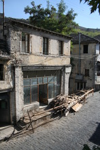 Bar Clavis before restoration after roof collapse