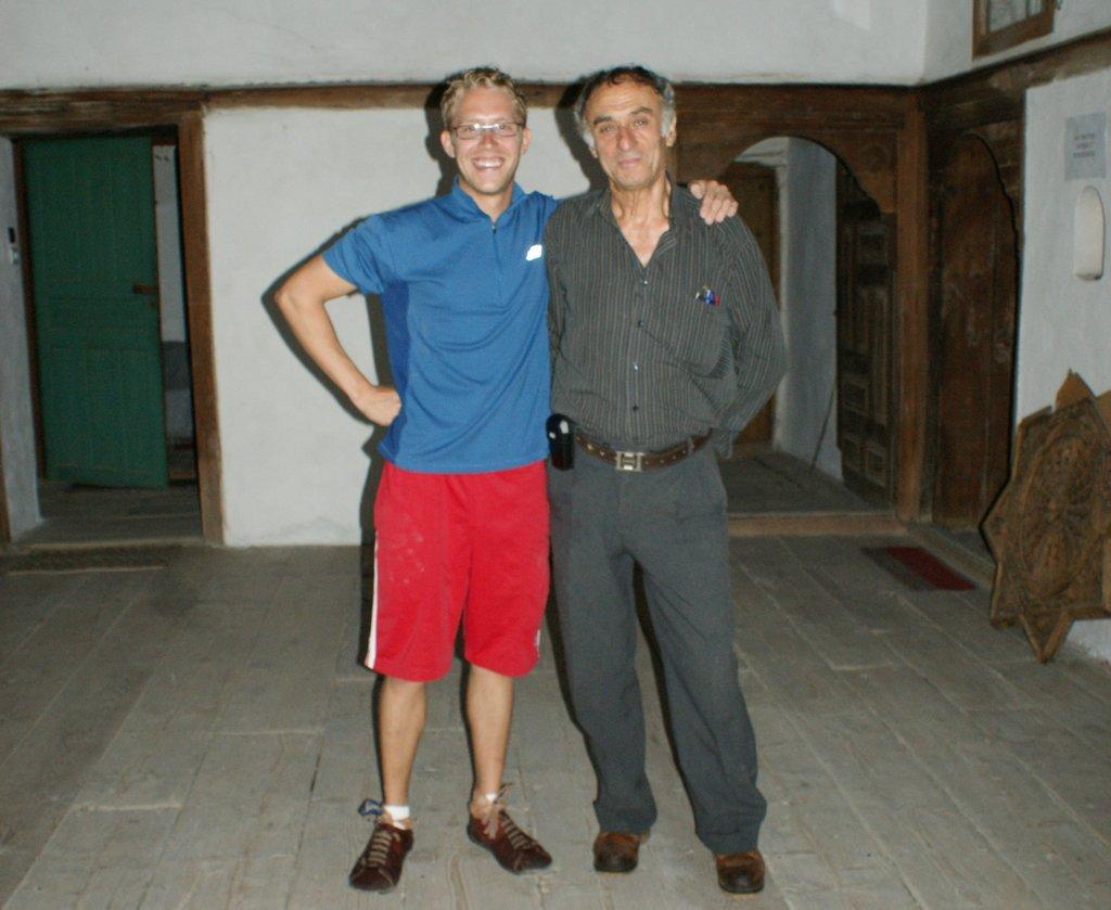 Enthusiasm of volunteer heartens Mr. Skenduli