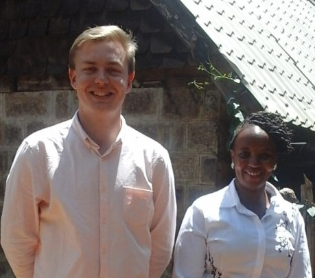 Michael Rothwell and Irene Mukuria