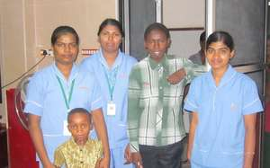 Patients in India