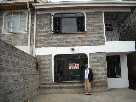 Peter Kamau at THAP's Family Support Center