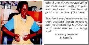 Richard and his Mom's Testimonial