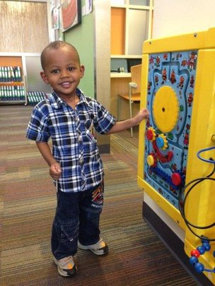 Ryan at Dell Children Medical Center, USA