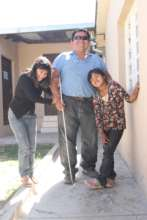 Julian with his two daughters--new patients