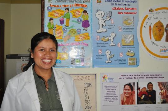 Nursing Student in Rural La Paz