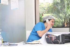 Dr. Quinteros scheduling patients