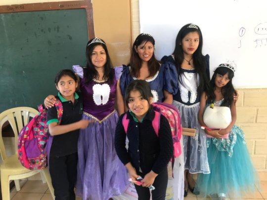SF Staff, Tooth Fairies & children @ Villa Candela