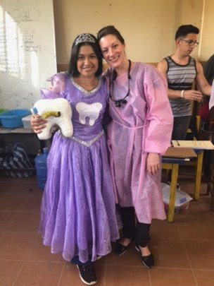 Tooth Fairy Adela with Kellie