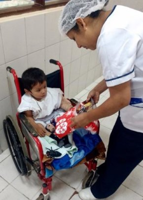 Merry Christmas at hospital  with Smiles Forever