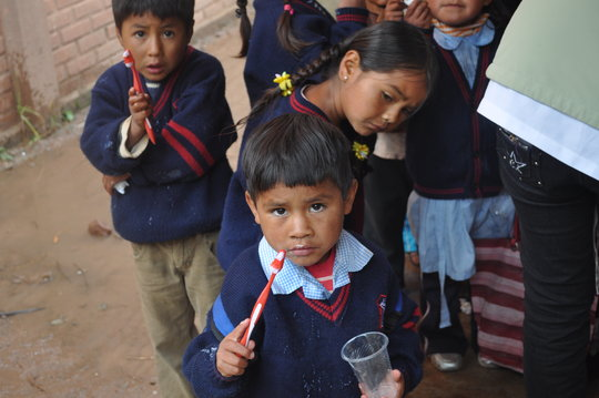 Send Homeless Bolivian Woman to School For A Year