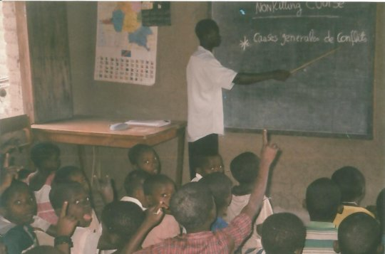 School for 600 children victim of war in DR Congo