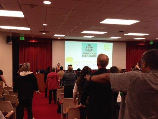 Presentation at USC on Self Care