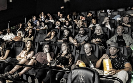 Audience at Awareness Film Festival